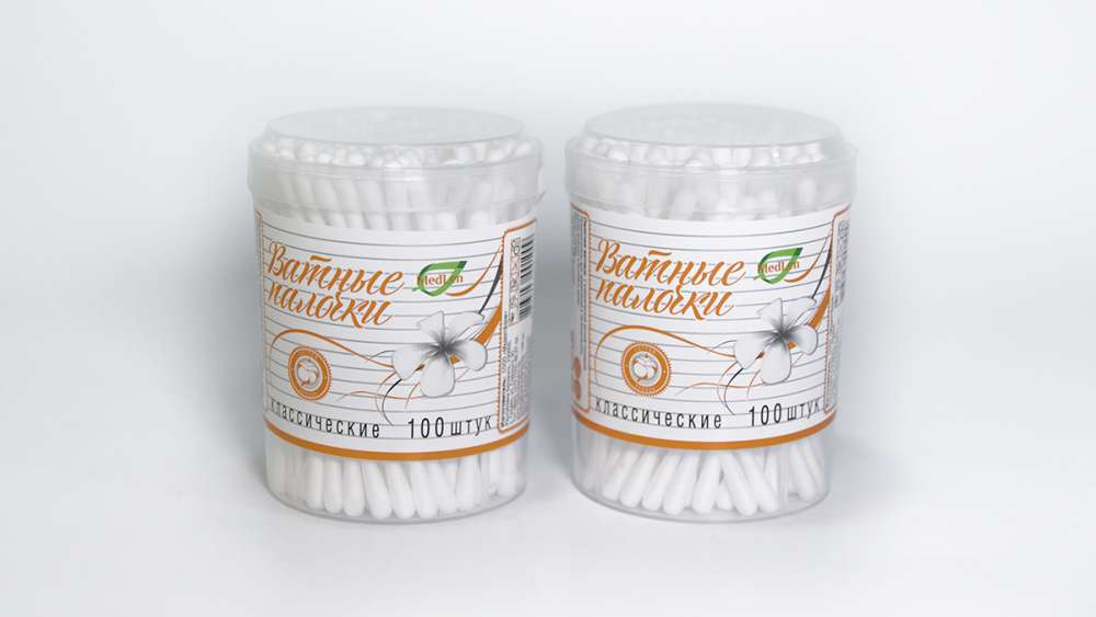 Cosmetic cotton buds 100 pcs.